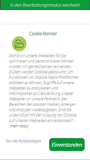 Der Cookie-Banner-Generator