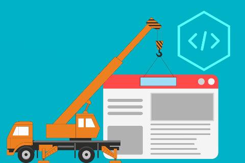 Der Bau neuer Webseiten